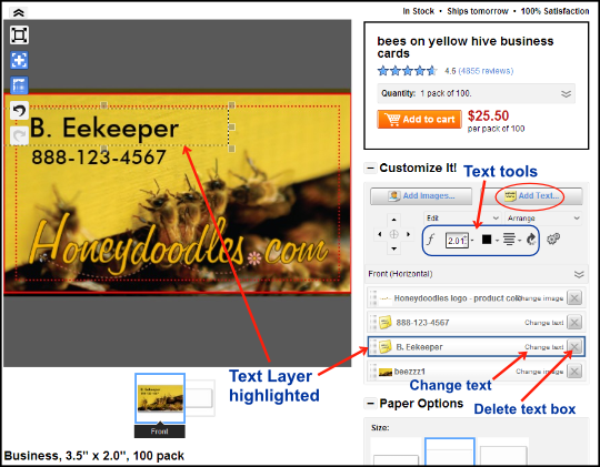 zazzle text tools