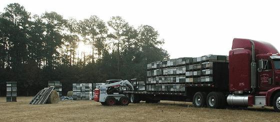 unloading-honeybee-colonies-from-transport-truck